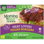 Product image for MorningStar Farms Meat Lovers Vegan Burgers