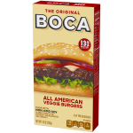 Product image for Boca All American Veggie Burgers