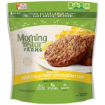 Product image for MorningStar Farms Breakfast Maple Flavored Sausage Veggie Patties