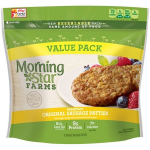 Product image for MorningStar Farms, Veggie Breakfast, Original Sausage Patties