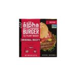 Product image for Alpha Plant-Based Beefy Burger