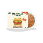 Product image for Meatless Farm Co. Plant-Based Burgers