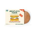 Product image for Meatless Farm Co. Plant-Based Sausage Patties