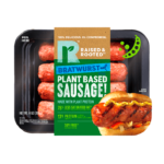 Product image for Raised & Rooted Bratwurst Style Plant Based Sausage